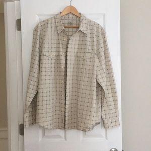 NWOT Lucky Brand Men's Button Down Shirt